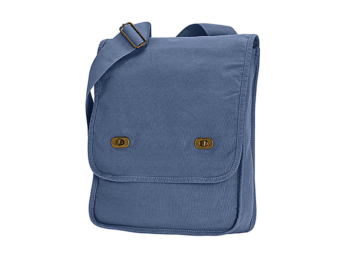 Comfort Colors Canvas Field Bag, Blue Jean, One Size bedrucken, Art.-Nr. 602033200
