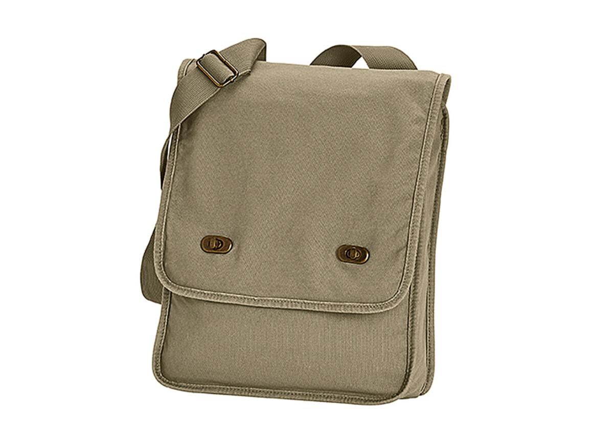 Comfort Colors Canvas Field Bag, Khaki, One Size bedrucken, Art.-Nr. 602037310