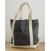 Bags by JASSZ Canvas Denim Shopper bedrucken, Art.-Nr. 63857
