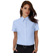 B & C Oxford SSL/women Shirt bedrucken, Art.-Nr. 71142