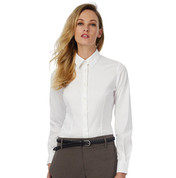 B & C Black Tie LSL/women Poplin Shirt bedrucken, Art.-Nr. 71242