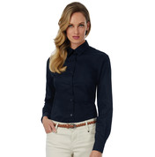 B & C Sharp LSL/women Twill Shirt bedrucken, Art.-Nr. 71842