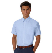 B & C Oxford SSL/men Shirt bedrucken, Art.-Nr. 72142