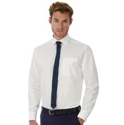 B & C Heritage LSL/men Poplin Shirt bedrucken, Art.-Nr. 72442