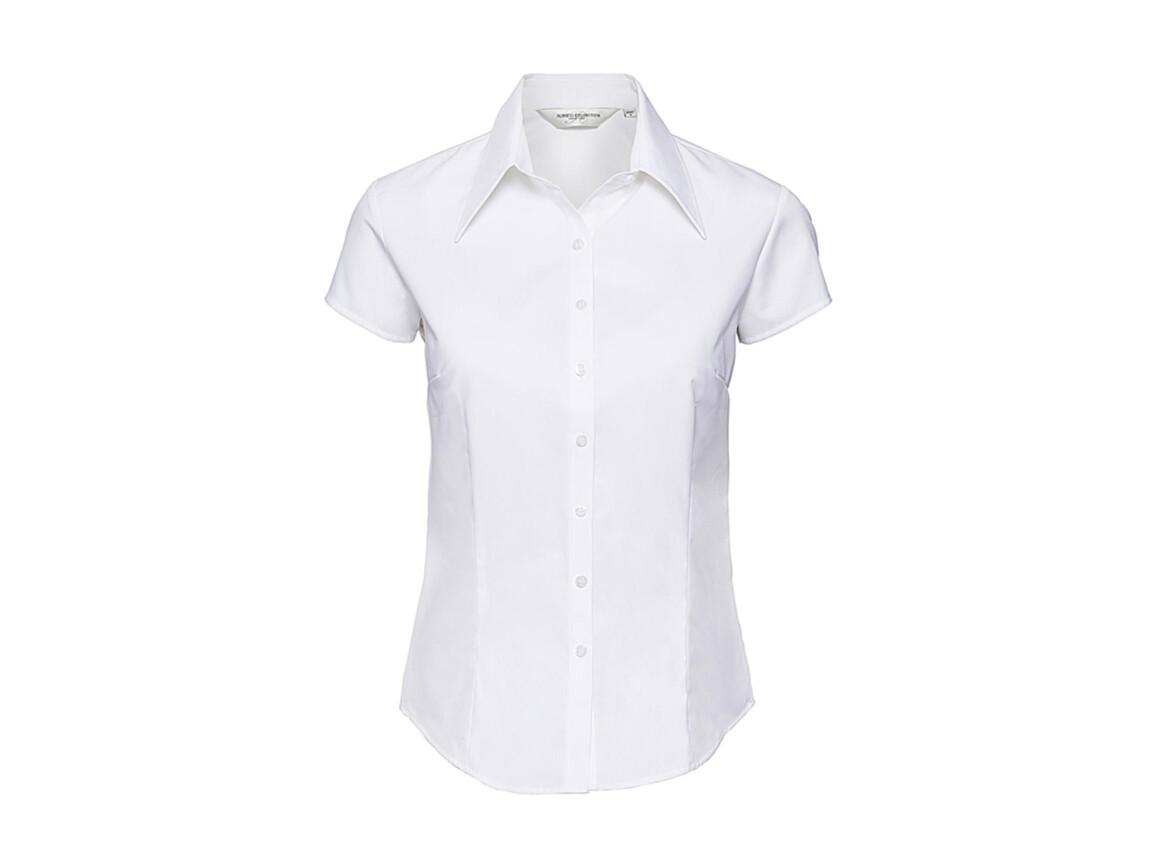 Russell Europe Ladies` Tencel® Fitted Shirt, White, S (36) bedrucken, Art.-Nr. 735000003