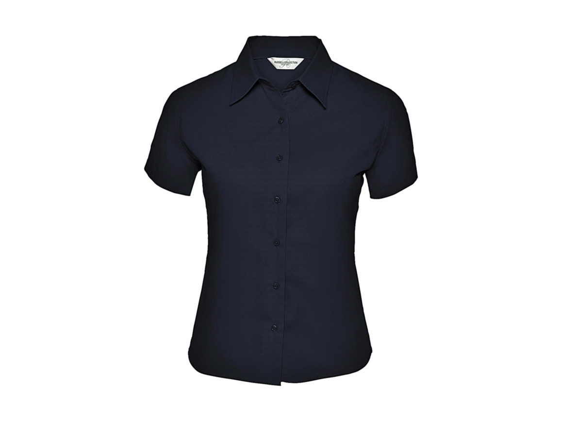 Russell Europe Ladies` Classic Twill Shirt, French Navy, XL (42) bedrucken, Art.-Nr. 767002016