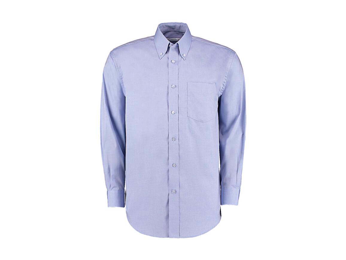 Kustom Kit Classic Fit Premium Oxford Shirt, Light Blue, L bedrucken, Art.-Nr. 778113215