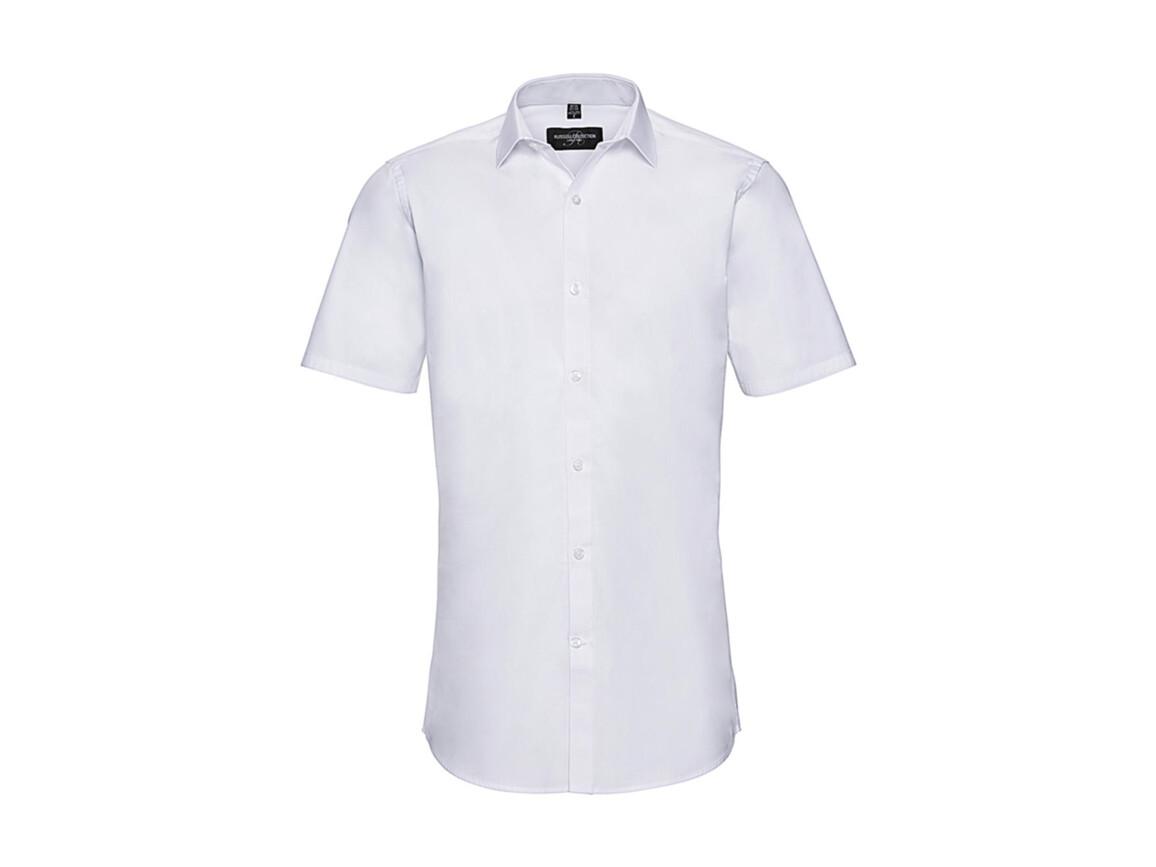Russell Europe Men`s Ultimate Stretch Shirt, White, 3XL bedrucken, Art.-Nr. 781000008