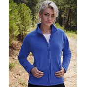 Fruit of the Loom Ladies` Full Zip Fleece bedrucken, Art.-Nr. 81901