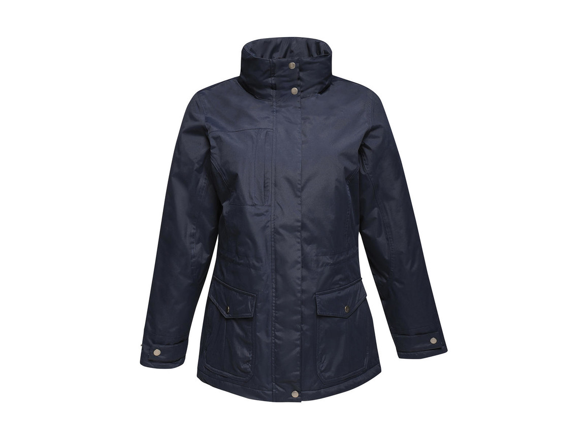 Regatta Women`s Darby III Jacket, Navy, 12 (38) bedrucken, Art.-Nr. 869172004