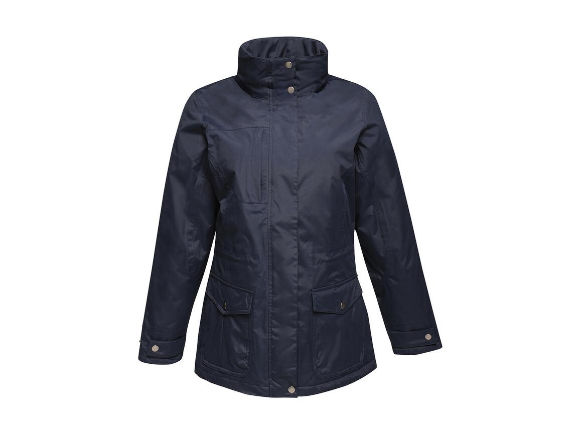 Regatta Women`s Darby III Jacket, Navy, 14 (40) bedrucken, Art.-Nr. 869172005