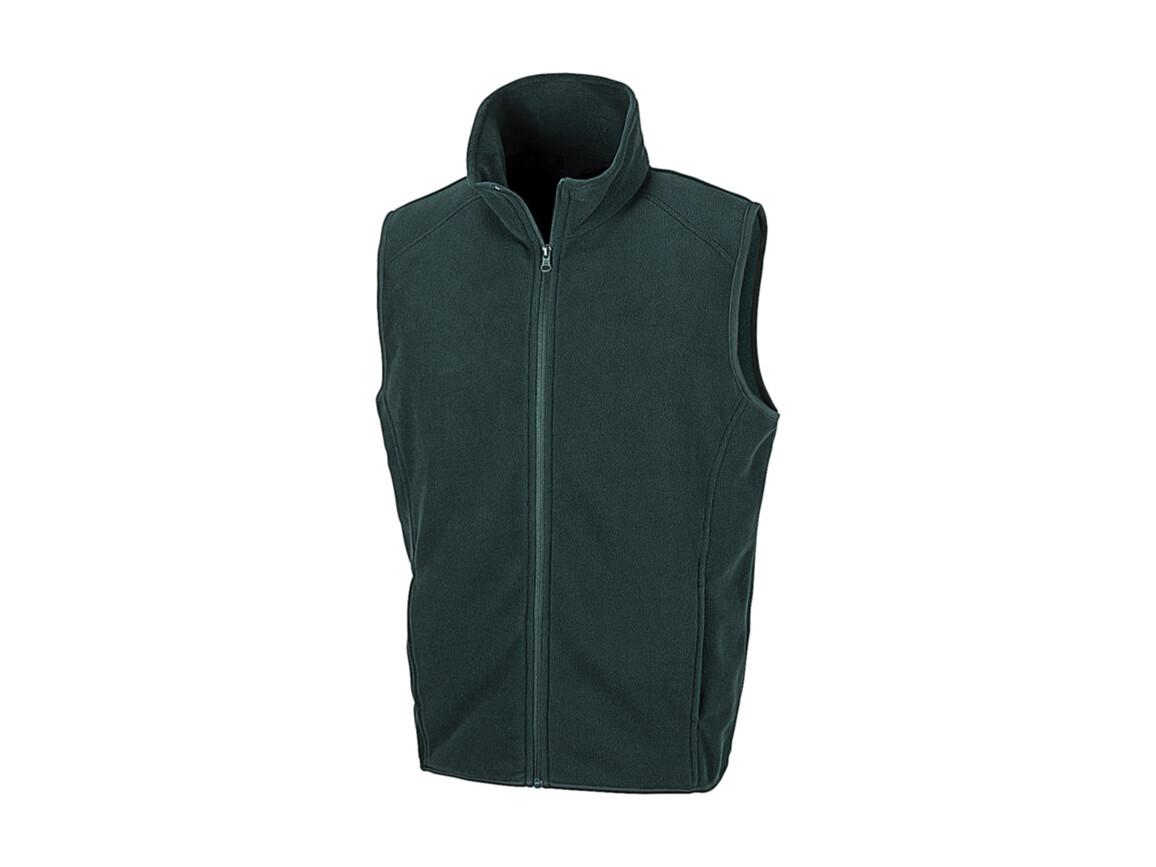 Result Micro Fleece Gilet, Forest, L bedrucken, Art.-Nr. 869335415