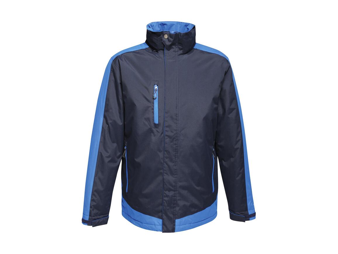 Regatta Contrast Insulated Jacket, Navy/New Royal, 4XL bedrucken, Art.-Nr. 872172619