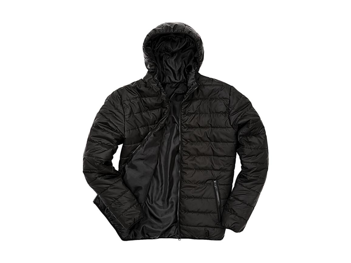 Result Soft Padded Jacket, Black, M bedrucken, Art.-Nr. 872331014