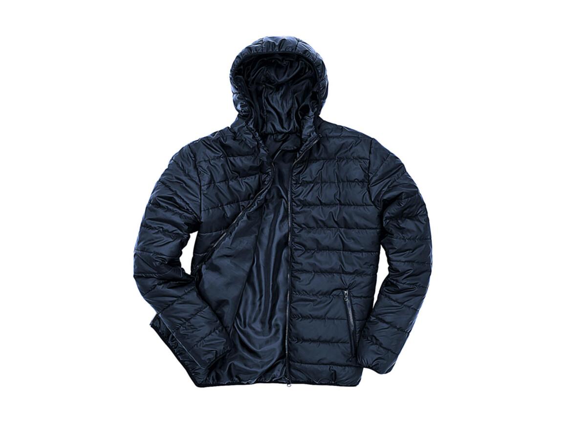 Result Soft Padded Jacket, Navy, L bedrucken, Art.-Nr. 872332005
