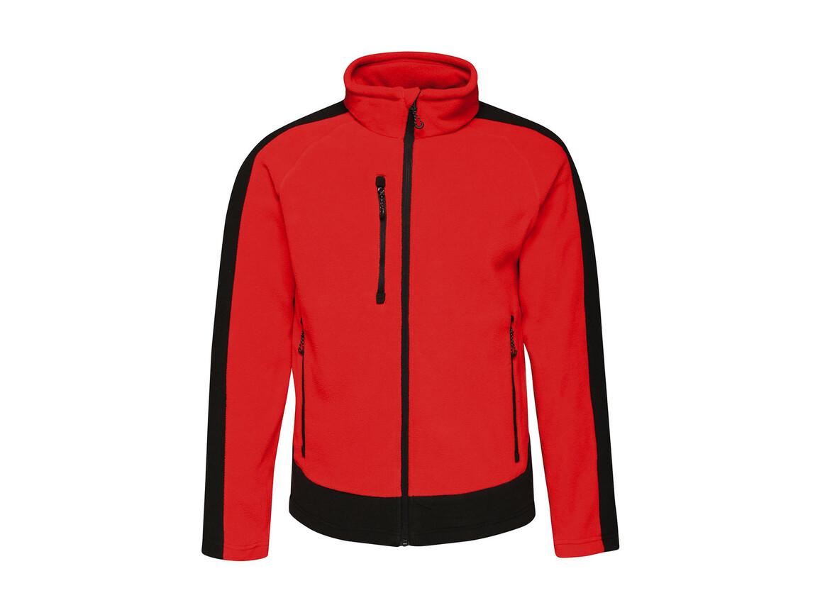 Regatta Contrast 300G Fleece, Classic Red/Black, 2XL bedrucken, Art.-Nr. 874174517