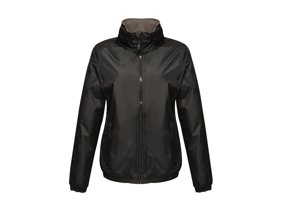 Regatta Women`s Dover Bomber Jacket, Black, 12 (38) bedrucken, Art.-Nr. 881171014