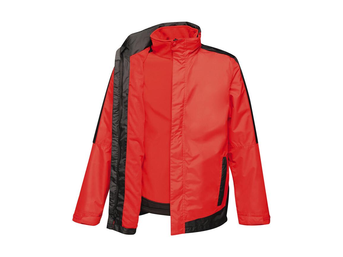Regatta Contrast Softshell 3-in-1 Jacket, Classic Red/Black, L bedrucken, Art.-Nr. 882174515