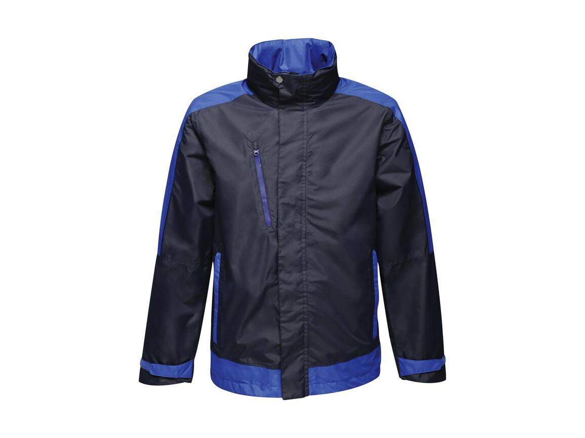 Regatta Contrast Shell Jacket, Navy/New Royal, XS bedrucken, Art.-Nr. 883172612