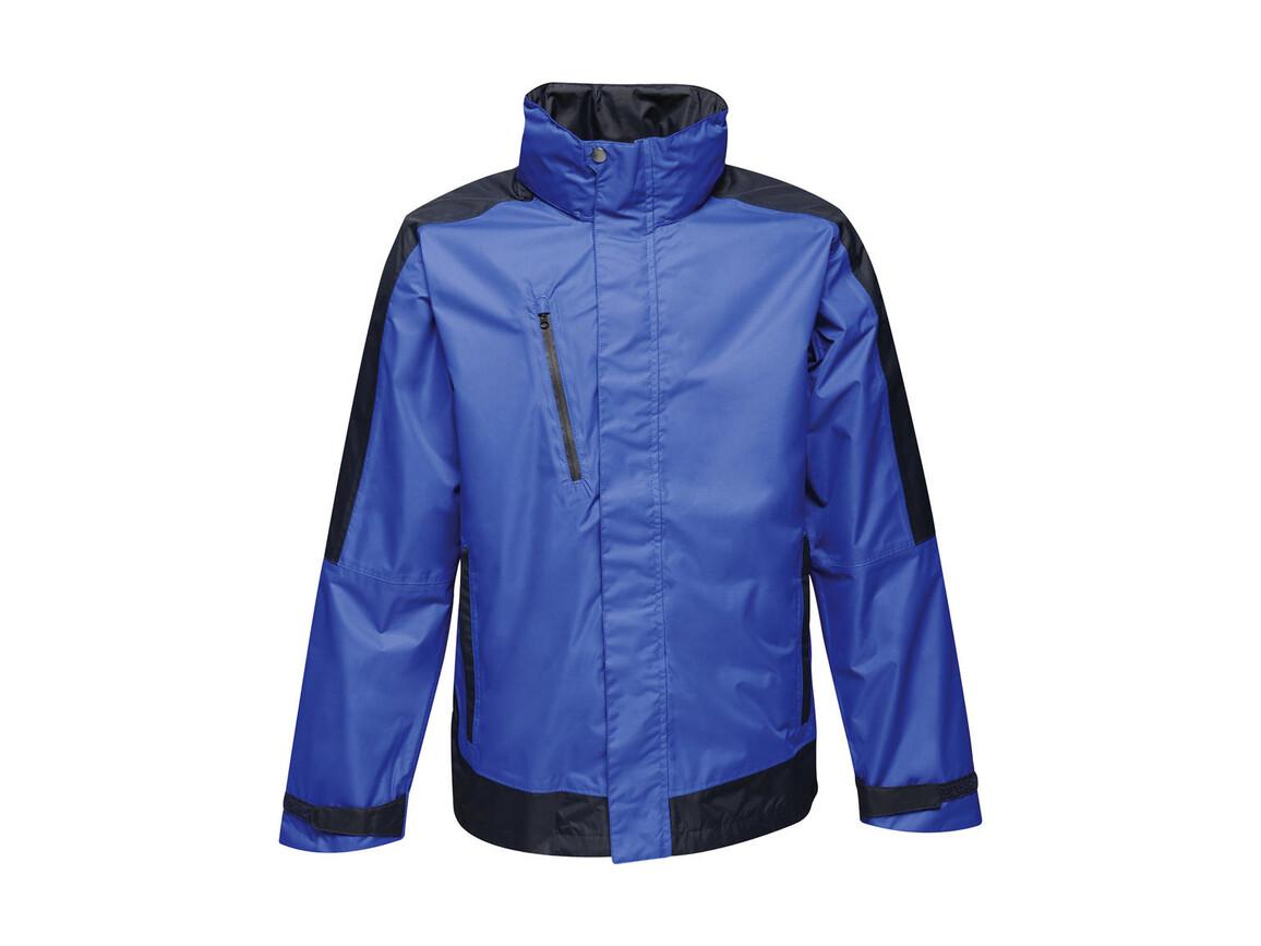 Regatta Contrast Shell Jacket, New Royal/Navy, XL bedrucken, Art.-Nr. 883173646
