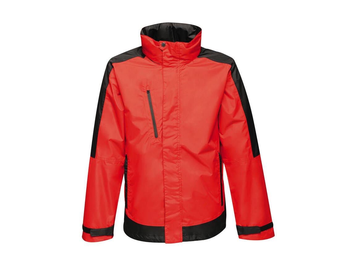 Regatta Contrast Shell Jacket, Classic Red/Black, L bedrucken, Art.-Nr. 883174515