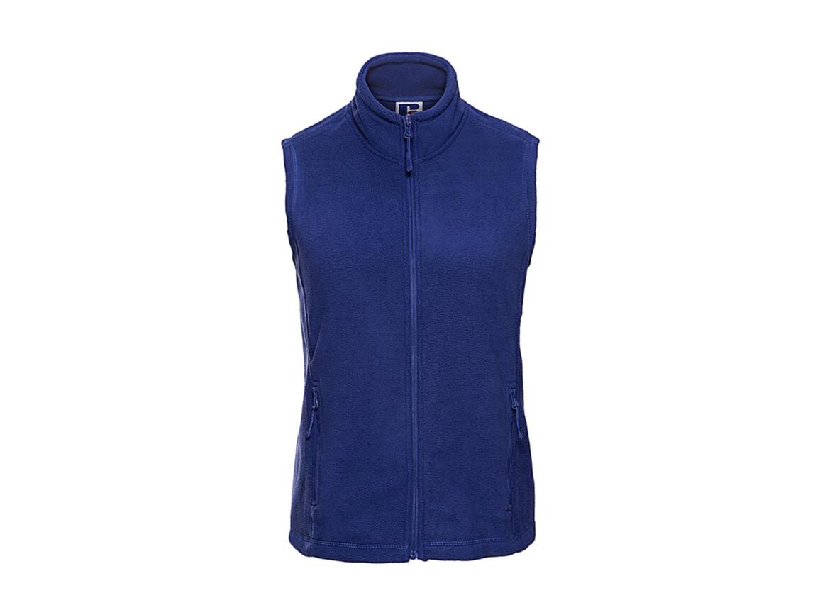 Russell Europe Ladies` Gilet Outdoor Fleece, Bright Royal, L bedrucken, Art.-Nr. 884003065