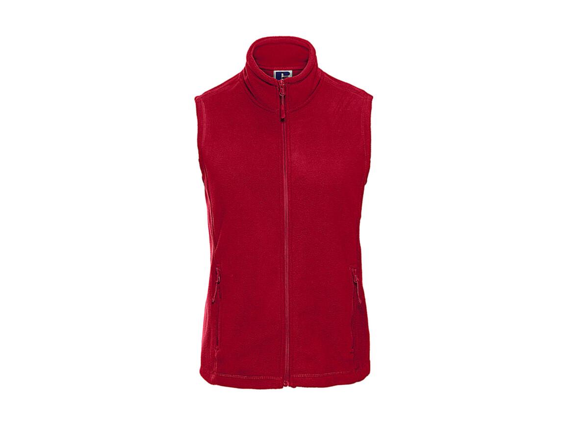 Russell Europe Ladies` Gilet Outdoor Fleece, Classic Red, 2XL bedrucken, Art.-Nr. 884004017