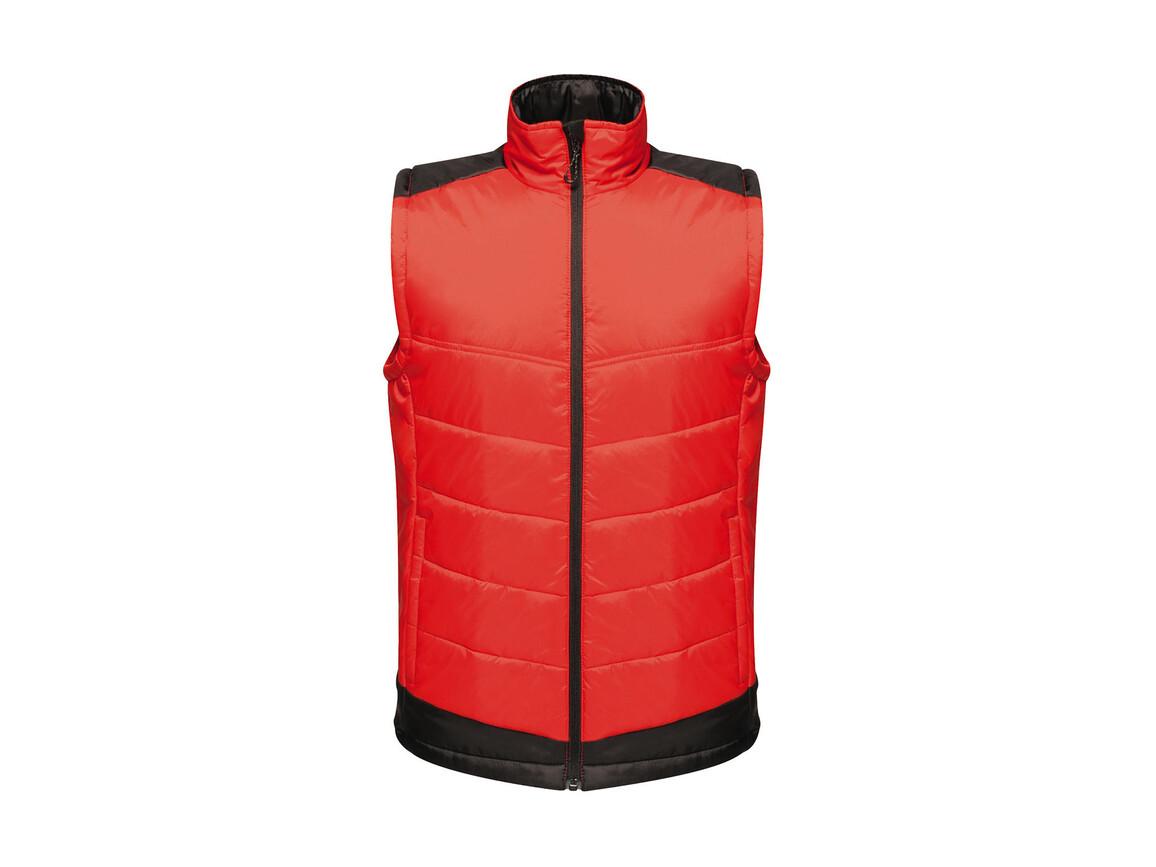 Regatta Contrast Insulated Bodywarmer, Classic Red/Black, XL bedrucken, Art.-Nr. 884174516