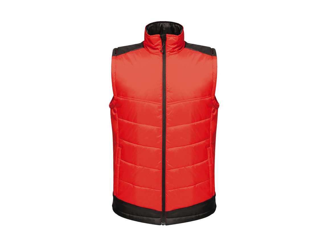 Regatta Contrast Insulated Bodywarmer, Classic Red/Black, XS bedrucken, Art.-Nr. 884174512