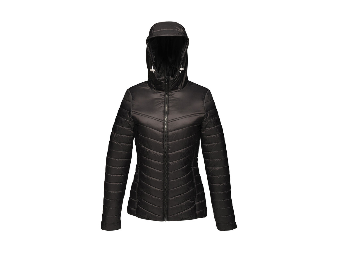 Regatta Women`s Acadia II Warmloft Down-Touch Jacket, Black/Black, 12 (38) bedrucken, Art.-Nr. 885171524