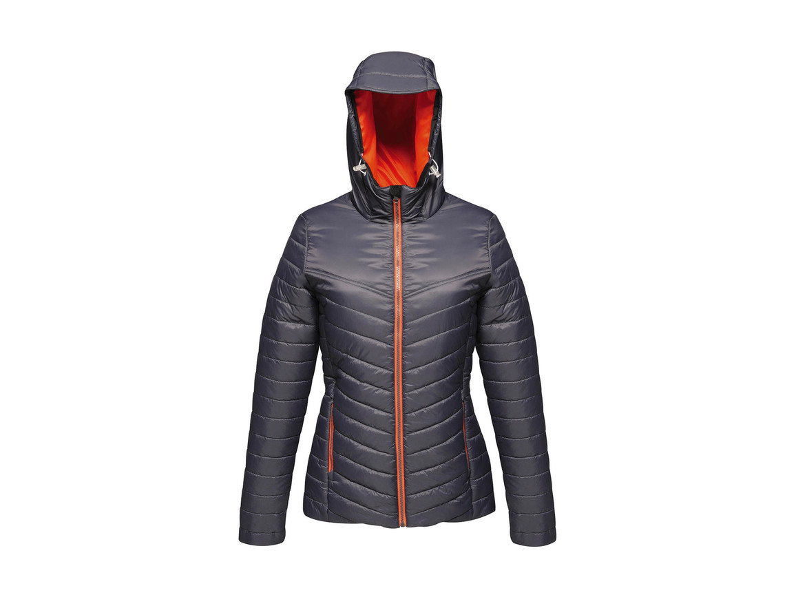 Regatta Women`s Acadia II Warmloft Down-Touch Jacket, Seal Grey/Magma, 10 (36) bedrucken, Art.-Nr. 885171753