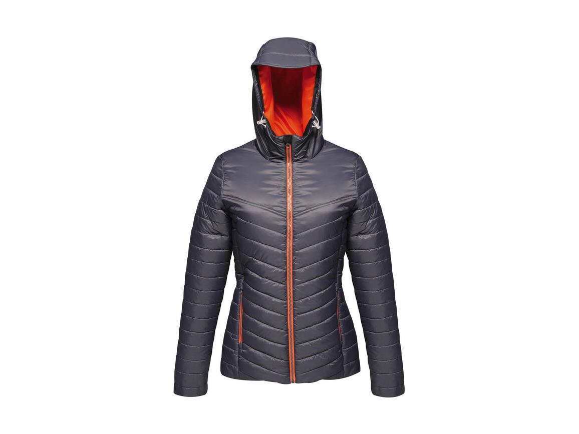 Regatta Women`s Acadia II Warmloft Down-Touch Jacket, Seal Grey/Magma, 12 (38) bedrucken, Art.-Nr. 885171754