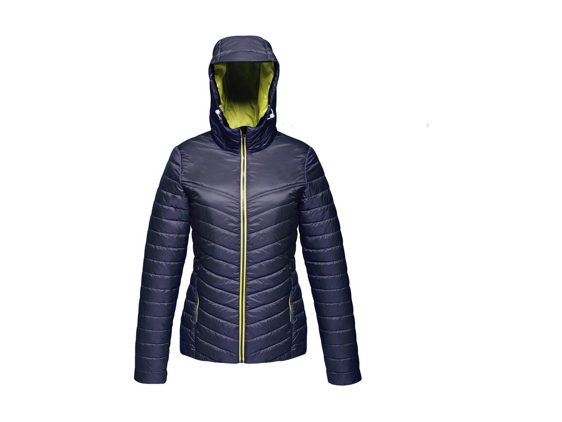 Regatta Women`s Acadia II Warmloft Down-Touch Jacket, Navy/Neon Spring, 12 (38) bedrucken, Art.-Nr. 885172714