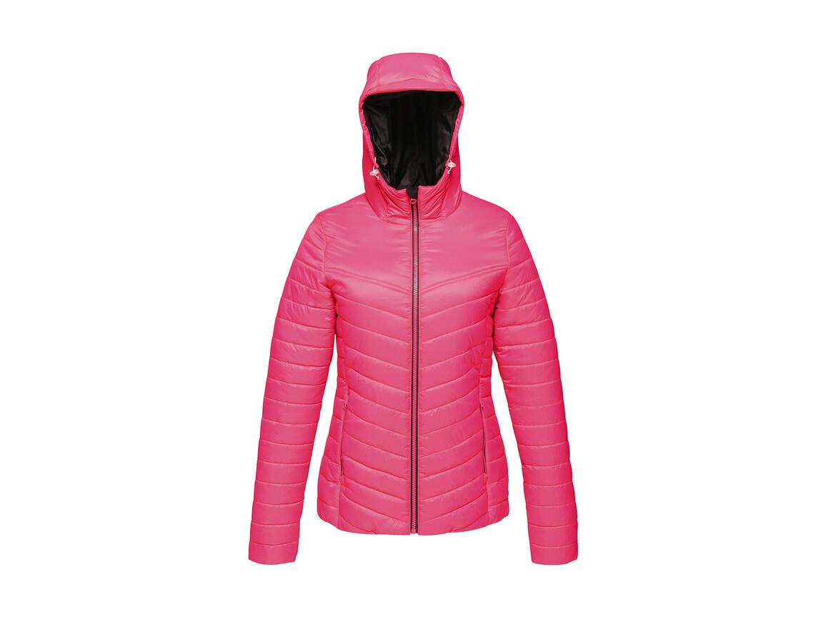 Regatta Women`s Acadia II Warmloft Down-Touch Jacket, Hot Pink/Black, 12 (38) bedrucken, Art.-Nr. 885174574