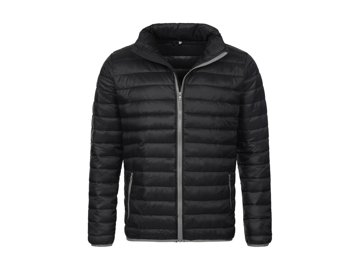 Stedman Active Padded Jacket, Black Opal, S bedrucken, Art.-Nr. 891051023