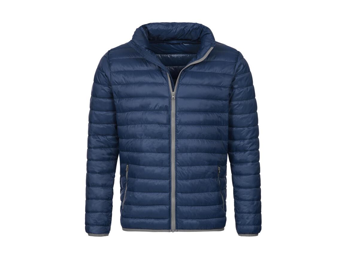 Stedman Active Padded Jacket, Dark Blue, L bedrucken, Art.-Nr. 891052045
