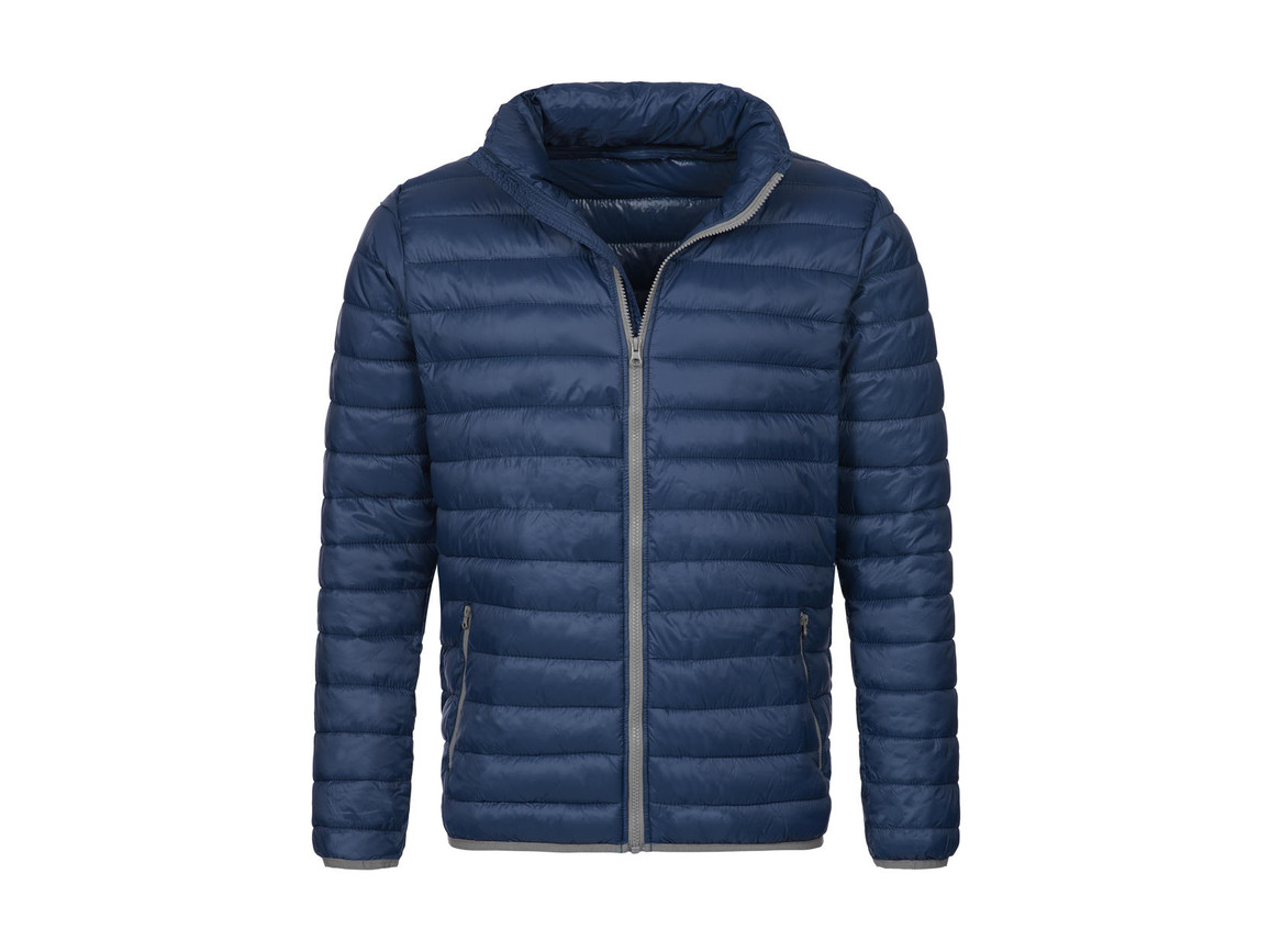 Stedman Active Padded Jacket, Dark Blue, S bedrucken, Art.-Nr. 891052043