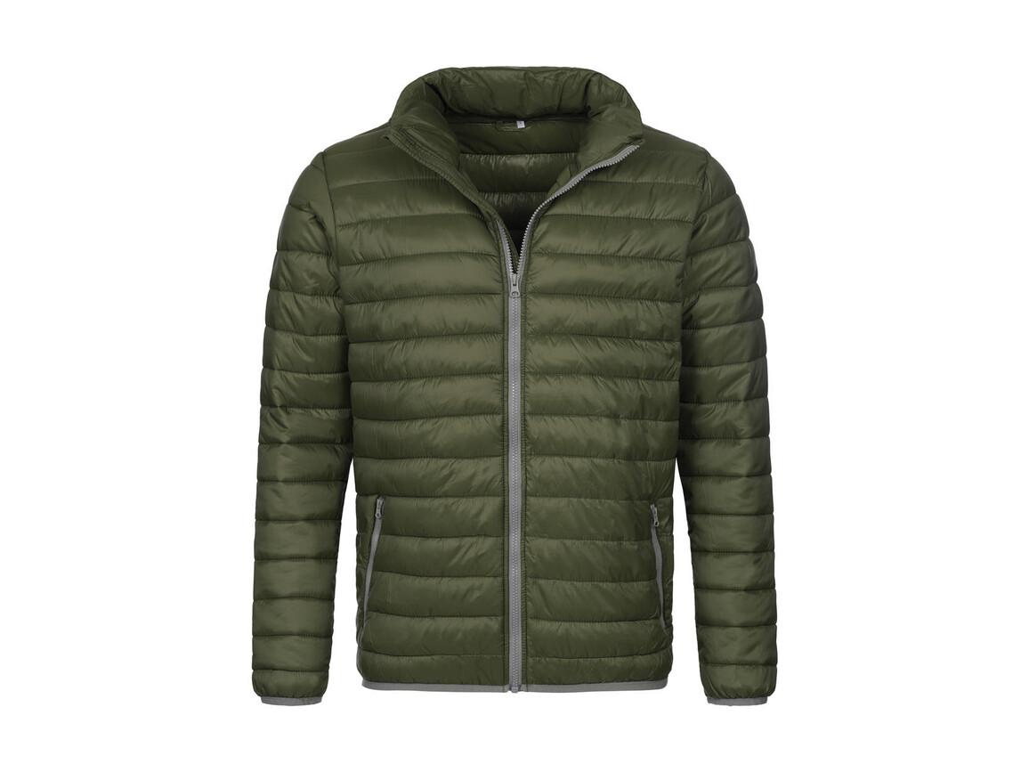 Stedman Active Padded Jacket, Military Green, 2XL bedrucken, Art.-Nr. 891055067