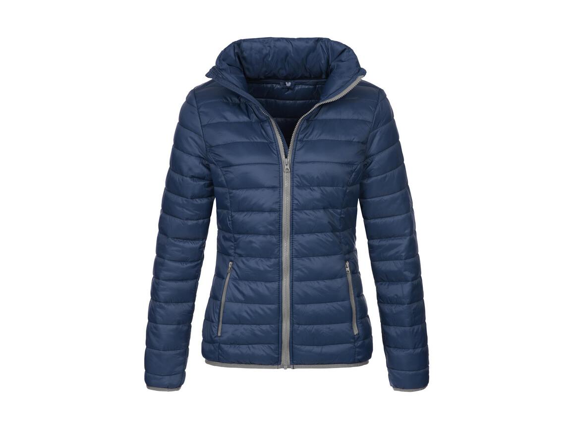 Stedman Active Padded Jacket Women, Dark Blue, S bedrucken, Art.-Nr. 894052043