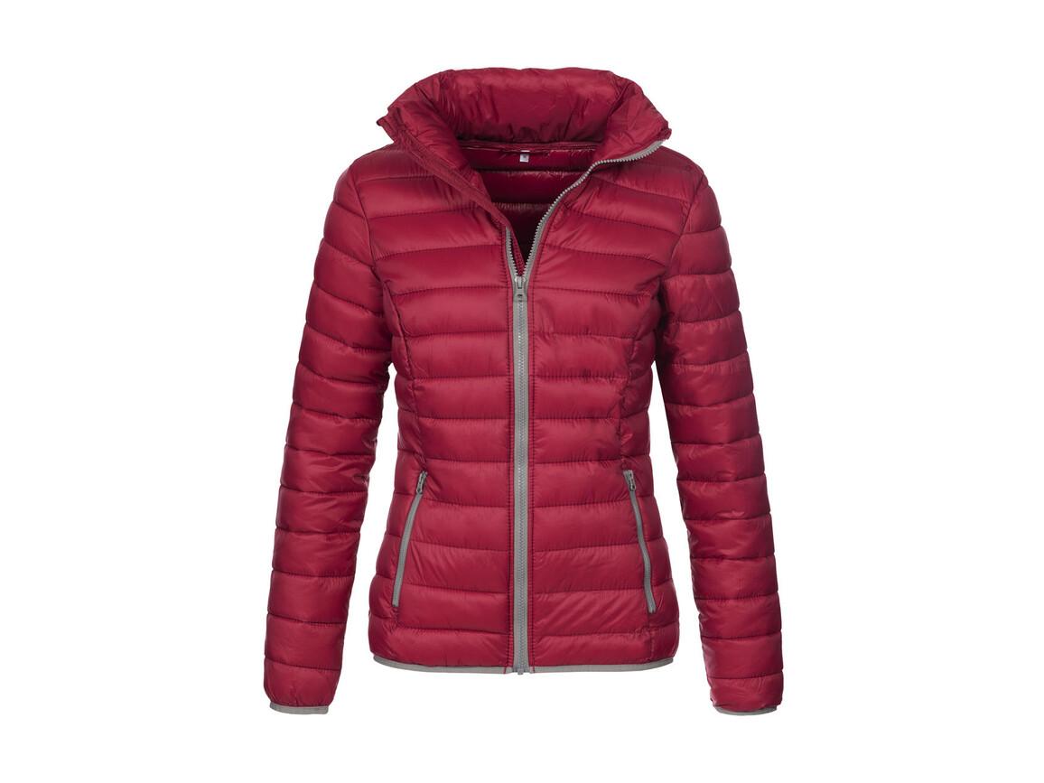 Stedman Active Padded Jacket Women, Bordeaux, L bedrucken, Art.-Nr. 894054465
