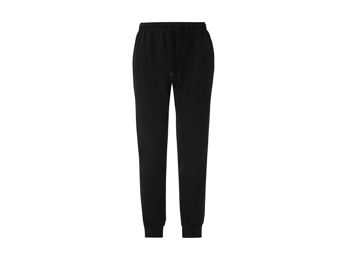 Fruit of the Loom Lightweight Cuffed Jog Pants, Black, L bedrucken, Art.-Nr. 900011015