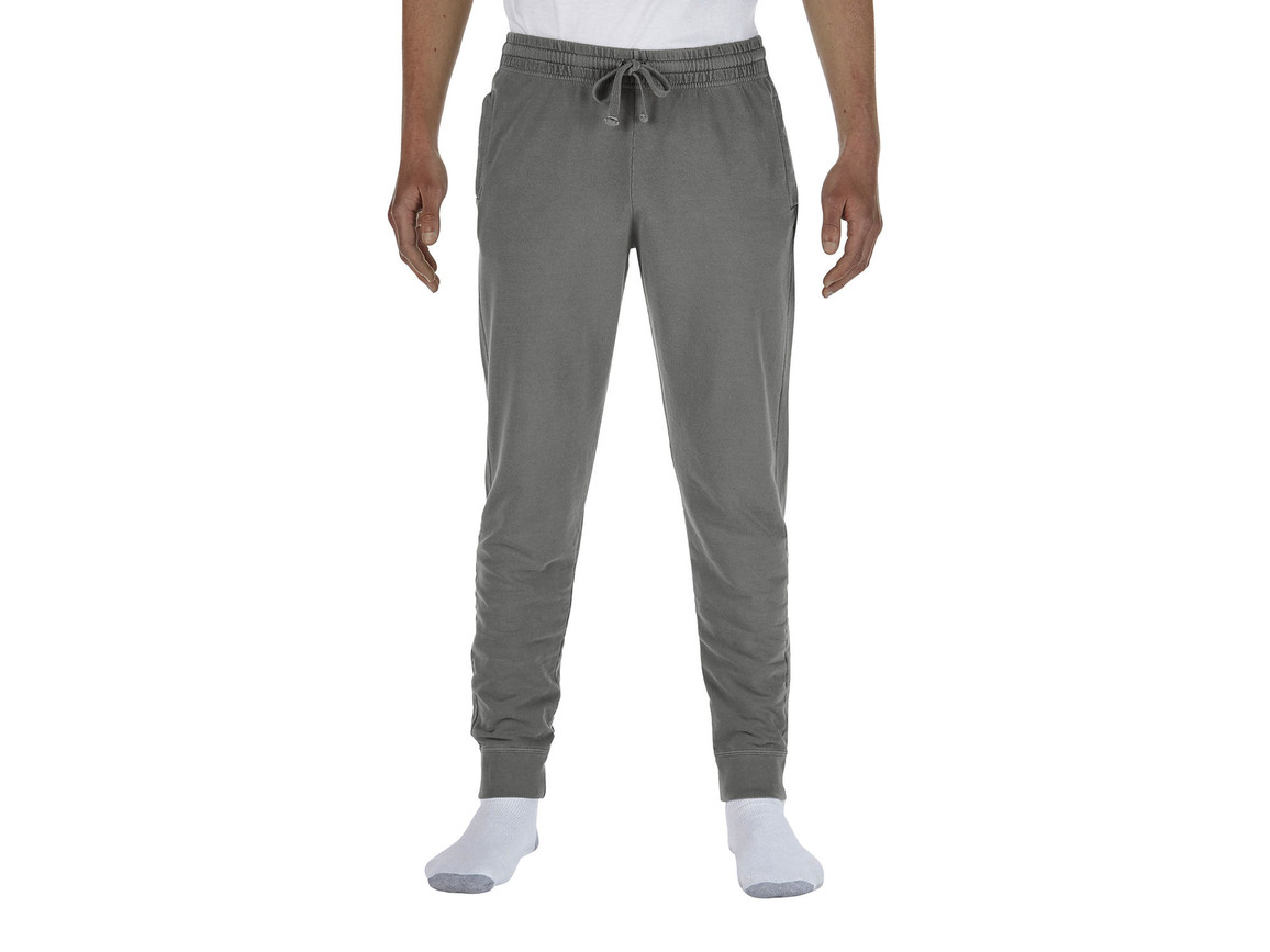 Comfort Colors Adult French Terry Jogger Pants, Grey, L bedrucken, Art.-Nr. 900031215