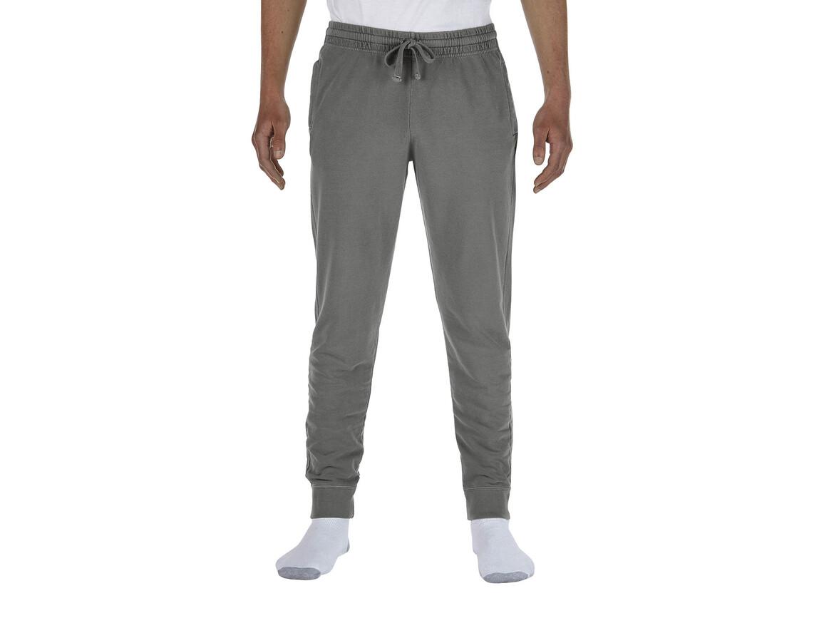 Comfort Colors Adult French Terry Jogger Pants, Grey, XL bedrucken, Art.-Nr. 900031216