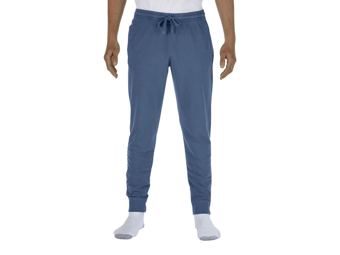 Comfort Colors Adult French Terry Jogger Pants, Blue Jean, XL bedrucken, Art.-Nr. 900033206