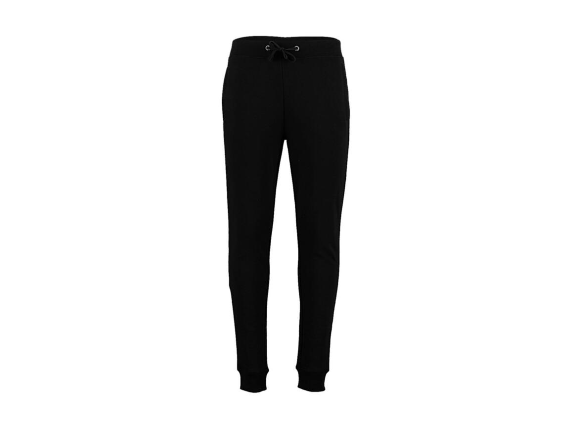 Kustom Kit Slim Fit Sweat Pant, Black, M bedrucken, Art.-Nr. 900111014