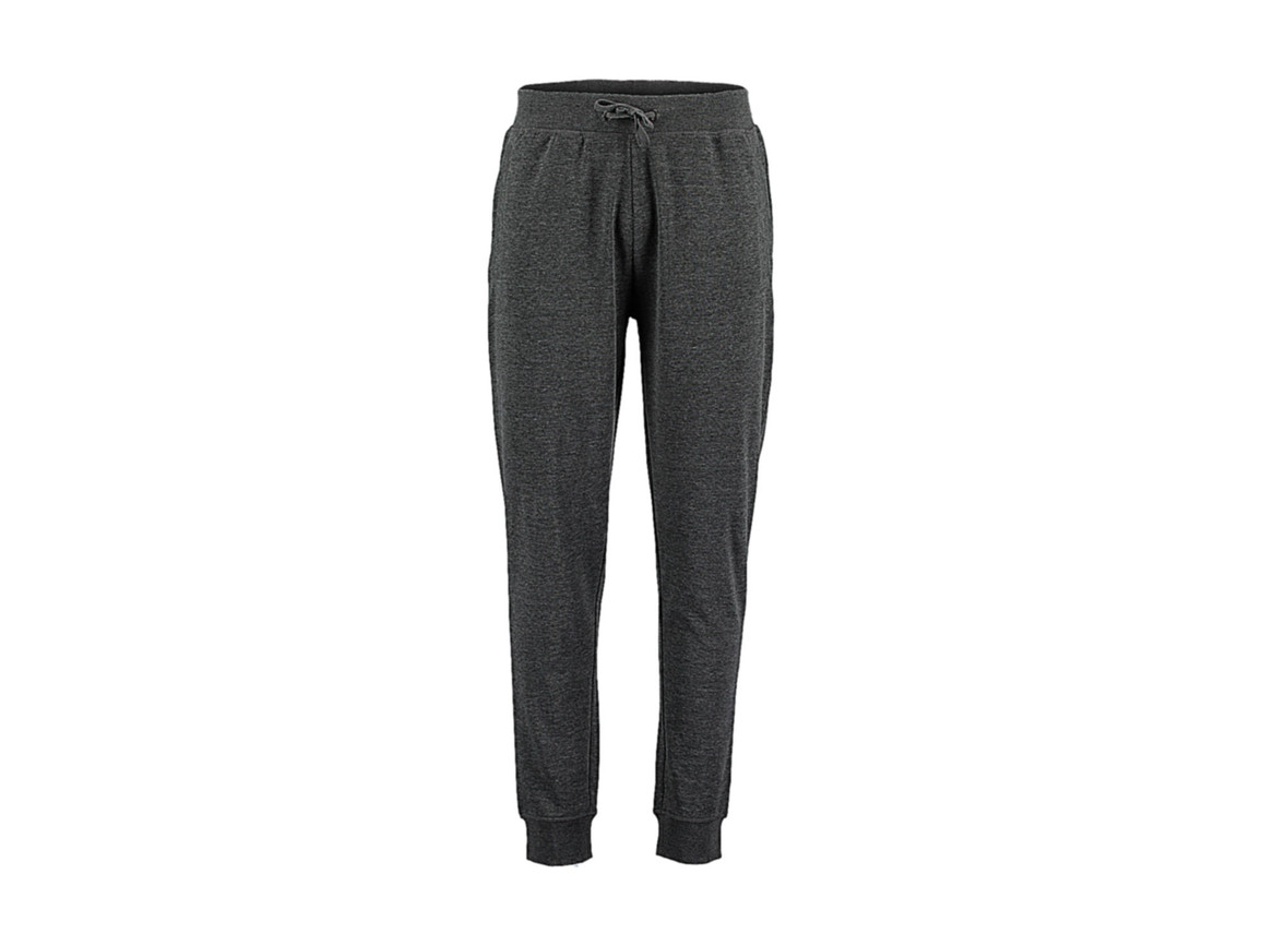 Kustom Kit Slim Fit Sweat Pant, Dark Grey Melange, XL bedrucken, Art.-Nr. 900111196