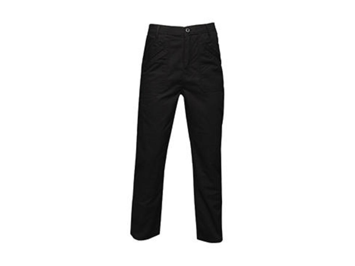 "Regatta Original Action Trouser, Black, 32"" bedrucken, Art.-Nr. 900171012"
