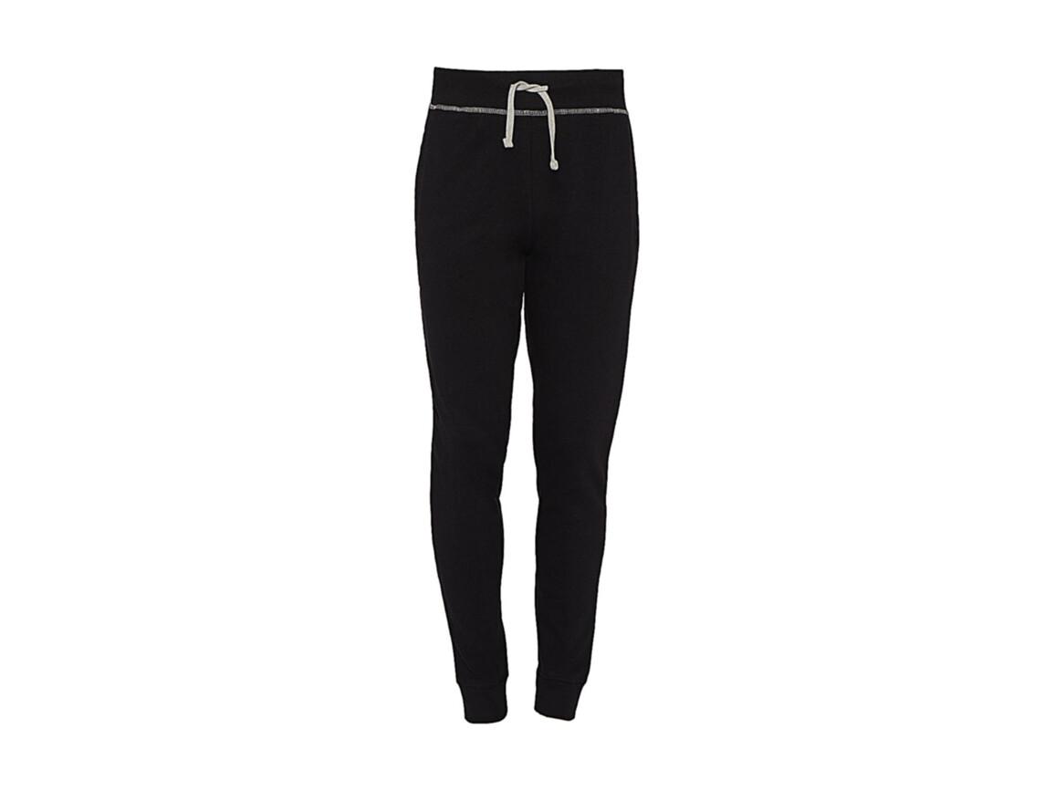 nakedshirt Alex Men`s Sweatpants, Black/Charcoal, 2XL bedrucken, Art.-Nr. 900851517