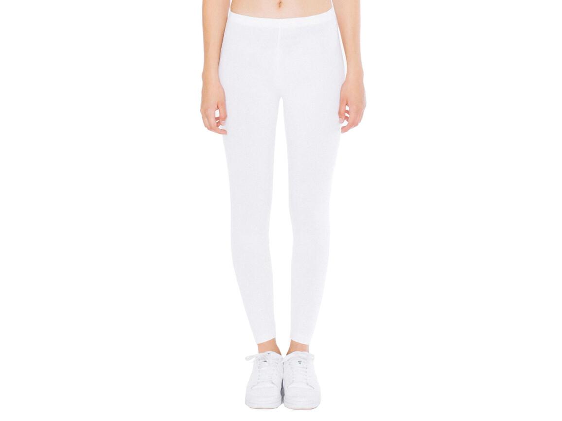 American Apparel Women`s Jersey Legging, White, L bedrucken, Art.-Nr. 901070005