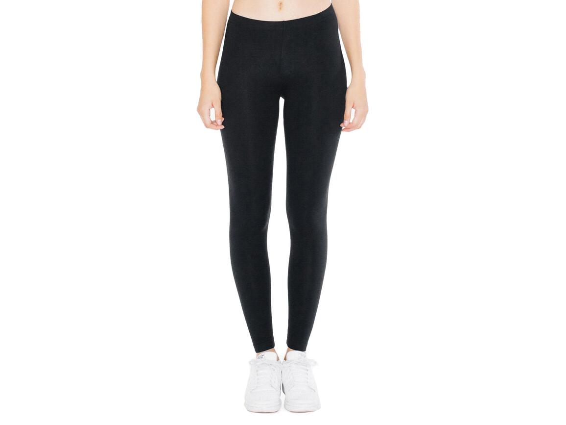 American Apparel Women`s Jersey Legging, Black, M bedrucken, Art.-Nr. 901071014